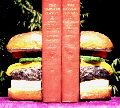 Hamburger bookends